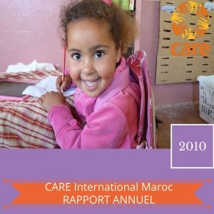 CARE International Maroc RAPPORT D'ACTIVITES 2010