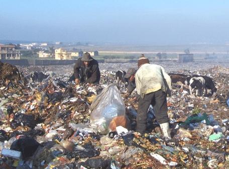 Amélioration des conditions de travail et de vie des trieurs informels de la décharge de Rabat