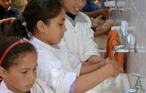 Wash au maroc : eau potable ,  assainissement et hygiène dans les écoles primaires rurales et péri-urbaine au maroc